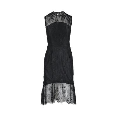 Dhalia Lace Dress Black